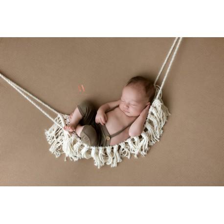 macrame new born hammock